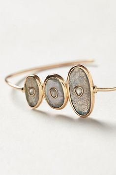Diamond Moonstone Bangle - anthropologie.com