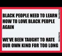 Love black people