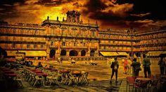 Man Made Salamanca  Wallpaper