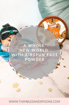 Airspun Face Powder Aladdin Theme