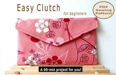 Easy Clutch - pdf sewing pattern