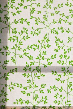 Home office - Leaf roller blinds - Anna Backlund - Via Fine Little Day