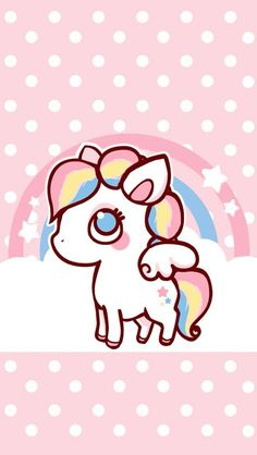 Check out this awesome collection of Kawaii Unicorn wallpapers, with 57 Kawaii Unicorn wallpaper pictures for your desktop, phone or tablet. Unicorn Drawing, Unicorn Art, Cute Unicorn, Rainbow Unicorn, Unicorn Mobile, Unicorn Logo, Unicornios Wallpaper, Kawaii Wallpaper, Kawaii Drawings