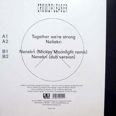 Toghether We're Strong by Crowdpleaser, designed by Schönherwehrs