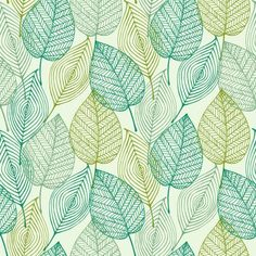 Decorative ornamental seamless spring pattern Endless elegant texture with leaves Tempate for design fabric, backgrounds, wrapping paper, . Textures Patterns, Fabric Patterns, Flowers Background, Decorative Leaves, Tree Graphic, Graphic Art, Leaf Texture, Design Graphique, Surface Pattern Design