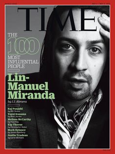 "J.J. Abrams: Lin-Manuel Miranda ""has redefined the musical."" ‪#‎TIME100"
