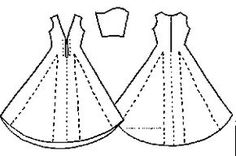 German gown layout