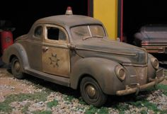Unforgettable Cars 1940 Ford Coupe Police Car