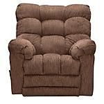 "Kick back in absolute comfort when you purchase the Wrangler Rocker Recliner.   Covered in plush, chenille fabric.  Features pad over chaise.  Biscuit back design provides ultimate comfort.  View our wide assortment of recliners online or visit a store close to home!    SKU: 1565125 - Wrangler Brown Rocker Recliner   Rocker Recliner - 42""W x 42""D x 41""H"