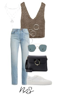 """""""#889"""" by blendingtwostyles ❤ liked on Polyvore featuring Zara, Yves Saint Laurent, J.W. Anderson, Ahlem, Charlotte Russe and Common Projects"""