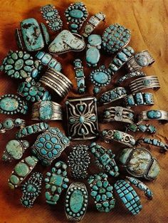 Larry Smith | Southwestern turquoise jewelry
