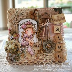 Tilda with big Ribbon, You are Special collection, Magnolia stamps