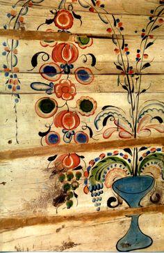роспись дома (фрагмент)