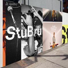 Rebranding the iconic radio station Studio Brussel — Base Design Identity Design, Visual Identity, Identity Branding, Sistema Visual, Hoarding Design, Internet Jokes, Summer Music Festivals, Old Logo, Simple Lines