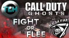 CoD Ghosts : Fight Or Flee ! K.E.M Fail Gameplay/Commentary