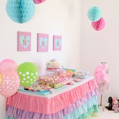 Cute as A Button First Birthday Party
