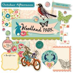The new Woodland Park line from @October Afternoon.  The Farmhouse was my favourite until I saw this!