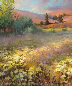 Field Of Dreams by Steve Henderson Oil ~ 36 x 30