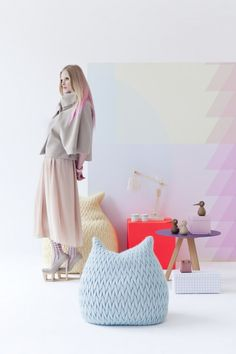 2012 Spring Living Fashion Trend Pastel Pretty {via Persentrum Wonen Netherlands }