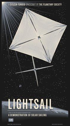 LightSail, el velero estelar soñado por Carl Sagan