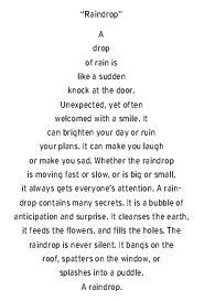 Motivational Children's Poem. Great for assembly