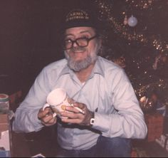 A Merry Christmas for my dad, James Wright, shortly before he passed.