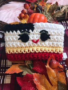 Items similar to Cruella De Vil cozy on Etsy Crochet Coffee Cozy, Crochet Patterns, Crochet Ideas, Gingerbread, Cup Cozies, Etsy, Crochet Squares, Mugs, Amigurumi
