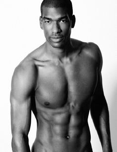 Black men chested Bare