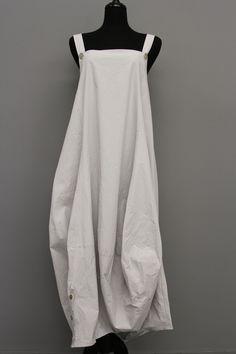 TRANSPARENTE COTTON JUMPER DRESS