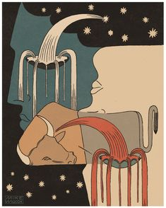 """Like """"waking from a dream"""", artist Mike Willcox turns to his canvas to understand his subconscious Dream Illustration, Art Nouveau, Erotic Art, American Artists, Art Inspo, Printmaking, Graphic Art, Tapestry, Canvas"""