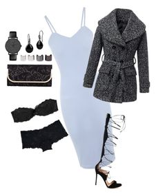 """""""London"""" by fullmoonandstars on Polyvore featuring Mode, Jane Norman, Victoria's Secret, Pieces, Gianvito Rossi, Oasis, Luv Aj, Marie Meili und Timex"""