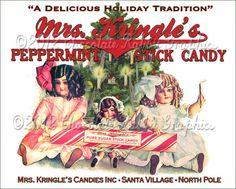 Christmas Vintage Tag Printable Label Peppermint Candy Digital Christmas Treat Bags, Christmas Cards To Make, Christmas Candy, Christmas Images, Christmas Stuff, Christmas Ideas, Xmas, Christmas Tags Printable, Christmas Labels