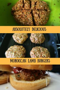 Frugal and delicious Moroccan lamb burgers. Ready in under 30 minutes. Cheap eats, delicious takeaway style home cooking, frugal food. #FrugalFood #Fakeaway #LambBurgers #MoroccanBurgers #LambRecipes #RasElHanout #LambMince #MinceRecipes Mince Recipes, Lamb Recipes, Lamb Burgers, Ras El Hanout, Home Food, Frugal Meals, Moroccan, Eat, Cooking