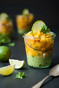 vegane Ceviche with Mango and Avocado