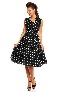 Thanks for black polka dot sundress fetish