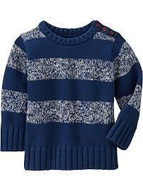 Marled-Stripe Sweaters for Baby old navy