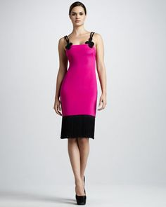 Rope-Strap Cocktail Dress by Notte by Marchesa at Neiman Marcus.