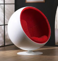 ball chair. Isto Eero Aarnio, 1963