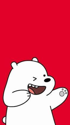 Bear Wallpaper, Iphone Wallpaper, Kawaii Wallpaper, Disney Wallpaper, Lock Screen Wallpaper, Tumblr Wallpaper, Ice Bear We Bare Bears, We Bear, Urso Polar