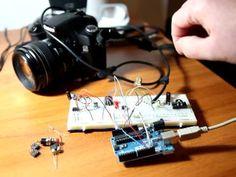 Arduino Uno + Canon EOS Shutter control
