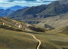 Camino a Iruya - Provincia de Salta