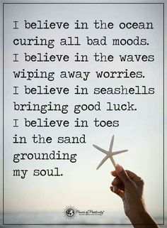 Amen to this! The beach is truly my happy place. Life Quotes Love, Quotes To Live By, Me Quotes, Motivational Quotes, Inspirational Quotes, Crush Quotes, Bad Mood Quotes, Ocean Quotes, Beach Quotes