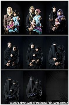 """""""She Who Tells A Story: Women Photographers from Iran and the Arab World"""" is at the Museum of Fine Arts Boston until January 12th 2014"""