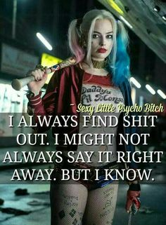 If a man rlly loves u it won't matter wht size ur boobs or ass are it is always in the way u wlk, think, and tlk Bitch Quotes, Joker Quotes, Badass Quotes, Best Quotes, Funny Quotes, Qoutes, Psycho Quotes, Harly Quinn Quotes, Arley Queen