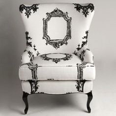 Wilshire Wingback Chair ...