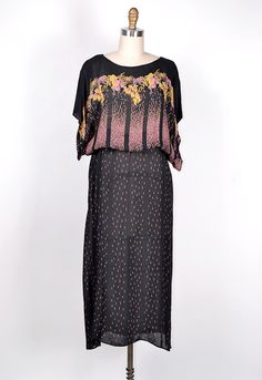 ★ vintage 1970s dress | Petal Showers Dress