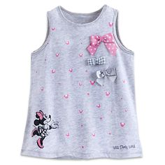 Minnie Mouse Tank Tee for Toddlers - Walt Disney World