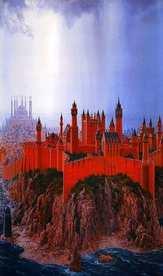 A Song of Ice and Fire, The Red Keep at Kings Landing // Ted Nasmith