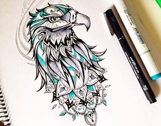 Eagle / Tattoo design