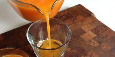 Juice med appelsin og gulerod
